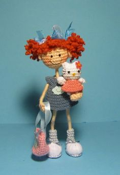 doll with kitty