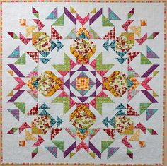 Parterre - Australian Homespun Magazine (#87; Vol.11 No.8) quilt.