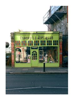 Muswell Hill, London. Ellie's favourite shop in muswell hill when visiting aunty Sam.