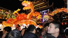Lunar New Year lasts 15 days, starting from January 31, 2014. This year its last day falls on Valentine's Day.