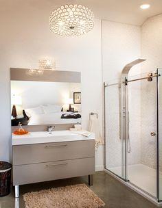 flottante vanité de salle de bain en mélamine collection : les ... - Suspension Salle De Bain Design