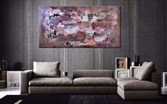 "Original abstract artwork for sale | Extra Large Abstract Art by Paresh Nrshinga | Large contemporary art for modern interiors | Free UK delivery | Buy now Extra Large Abstract  paintings for sale #extralargeart #abstractart #fourwallsart ""Somewhere Over The Rainbow"" by Paresh Nrshinga www.artnrshinga.com 36""x72"" £1600"