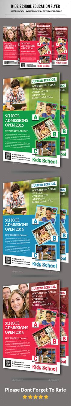 School Tutoring Flyer  School Flyer Template And Flyer Printing