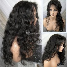 62 Best Deep Wave Silk Top Full Lace Wig