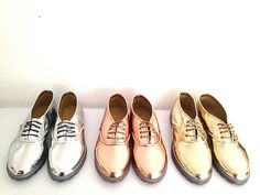 Pony Oxfords Clear Transparent Chunky Sole