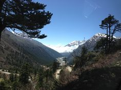 Near Lachung, Sikkim, India