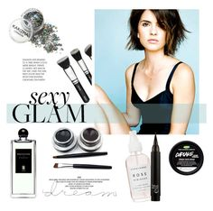 """""""Shelley Hennig ♥"""" by tvdsarahmichele ❤ liked on Polyvore featuring beauty, Serge Lutens and M.A.C"""