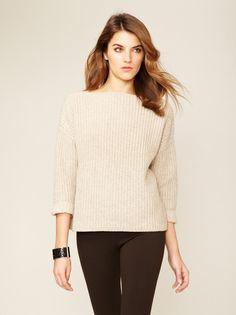 Ribbed Boatneck Sweater by Vince - Found at #GiltLive via @GiltGroupe