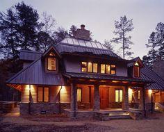 Hefferlin + Kronenberg Architects: Private Hunting & Fishing cabin.