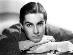 "Tyrone Power: Man, Myth and Movie Idol"" exhibit at The Hollywood . Tyrone Power, Old Movie Stars, Classic Movie Stars, Classic Movies, Brandon Lee, Classic Hollywood, Old Hollywood, Hollywood Glamour, Hollywood Stars"