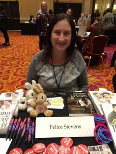 With Felice Stevens at the Liberty States Fiction Writers Conference in New Jersey. Writers Conference, New Jersey, Liberty, Fiction, Books, Political Freedom, Libros, Freedom, Book