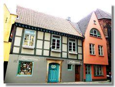 Schnoor in Bremen (Germany)