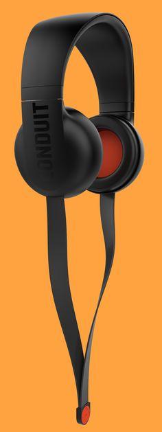 Headphones from Conduit Audio, by Robin Stethem of STETHEM.COM