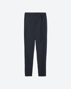 FLOWING TROUSERS - View All - TROUSERS - WOMAN   ZARA United States