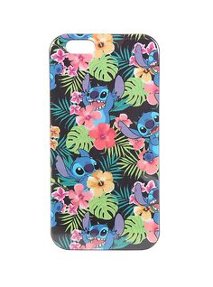 Disney Lilo & Stitch Tropical Stitch iPhone 6 Case,