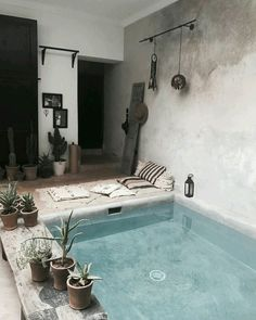 Best Mini Pool Design Ideas For Small Backyard - Contemporary Interior Design, Home Interior Design, Modern Contemporary, Cosy Interior, Contemporary Building, Contemporary Cottage, Contemporary Apartment, Contemporary Wallpaper, Contemporary Chandelier