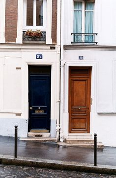 New double front door paris france ideas