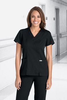 Grey's Anatomy™ 41101 Scrub Tops at A2Z Uniforms & Embroidery
