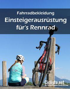 Was braucht man eigentlich zum Radfahren? Welche Klamotten sind ein Muss, welche Nice-to-have auf dem Rennrad? Ein Guide für Fahrradbekleidung: Einsteigerausrüstung fürs Rennrad! #Rennrad #Radsport #Fashion #Bikefashion #bike #cycling