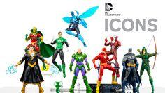 El Agujero del Blister: DC Collectibles Icons la Nueva línea de Figuras DC...