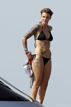 Pin for Later: The Best Bikini Moments of 2015! Ruby Rose