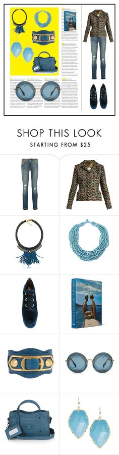 """""""best fashion store"""" by denisee-denisee ❤ liked on Polyvore featuring R13, Maison Margiela, Fiona Paxton, Marc Jacobs, Assouline Publishing, Balenciaga, Miu Miu, Kendra Scott and vintage"""