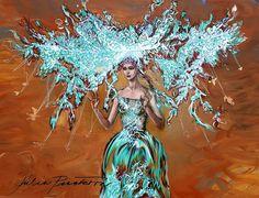 Queen by McQueen,.#illustration#fashionillustration#art