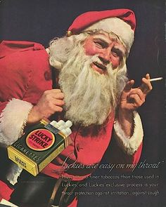 Is Santa still smoking?