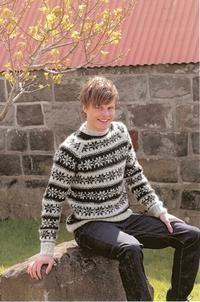icelandic sweater for Håkon