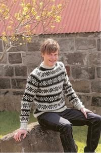 icelandic sweater for Håkon