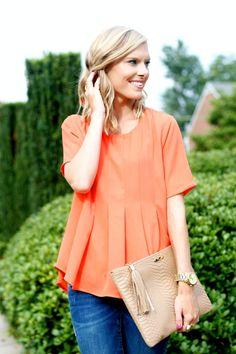 Life with Emily | a life + style blog : Orange Crush