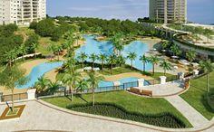 O Domínio Marajoara é o maior condomínio clube do Apto.vc. Ele tem mais de 80 áreas de lazer (!) em um terreno de 66 mil m²! Melhor do que muitos clubes por aí!