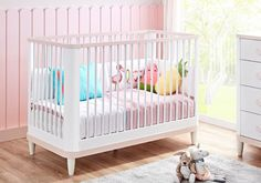 Βρεφική κούνια Lima 2202 Montessori, Cribs, Bed, Furniture, Home Decor, Cots, Decoration Home, Bassinet, Room Decor