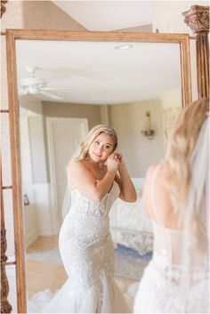 bride puts on earrings during wedding prep in bridal suite of Bonnet Island Estate   Summertime Bonnet Island Estate wedding in Manahawkin NJ photographed by New Jersey wedding photographer Idalia Photography. Planning a classic summer wedding? Find inspiration here! #IdaliaPhotography #BonnetIslandEstateWedding #NYWedding #SummerWeddingIdeas Bridal Suite, Bridal Robes, Wedding Prep, Summer Wedding, Wedding Gallery, Wedding Photos, Nj Wedding Venues, Wedding Morning, Bridesmaid Robes