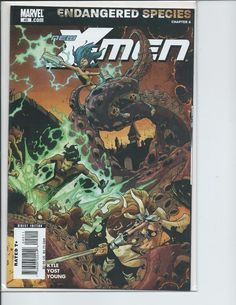 Marvel - New X-Men #40 (Endagered Species Part 4: Kyle, Yost, Young) VF