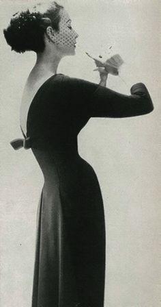 Lillian Bassman Harper's Bazaar 1956.