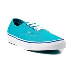 Vans Authentic Skate Shoe, Light Blue, Womens Size 6 |  Journeys Shoes