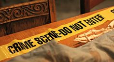 Crime scene investigation in progress!