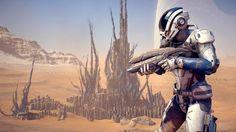 Mass Effect: Andromeda : In Mass Effect: Andromeda können sich Spieler ihre eigenen Waffen herstellen - und diese benennen.