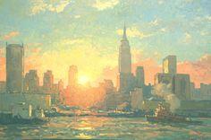 "John C. Traynor (American, born  1961)  ""City of Light"""