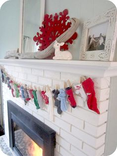 For next year, I have plenty of odd socks for an advent calendar garland...