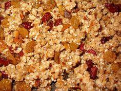 4 ingredient granola