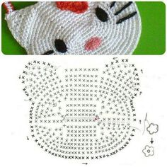Hello kitty crochet purse diagram ~ Crochet Knit Tote Bags Back Packs Hobo Bags Purse Handbags - Tap the link now to see all of our cool cat collections! Hello kitty crochet avec schéma ~~ someone teach me Spanish! i do not like hello kitty, but i know s Chat Crochet, Crochet Cat Toys, Crochet For Kids, Crochet Gifts, Crochet Hello Kitty, Hello Kitty Purse, Purse Patterns, Knitting Patterns, Toddler Busy Bags