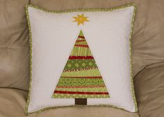 from the blue chair: A new Christmas pillow