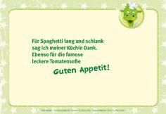 Für Spaghetti