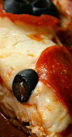 Low-Carb Gluten-Free Chicken Paillard Pizzette