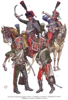 French Guards of Honor, They were not reconstituted for the Waterloo campaign of Military Art, Military History, Military Uniforms, Ww2 Uniforms, Army Costume, Etat Major, British Soldier, French Army, Napoleonic Wars