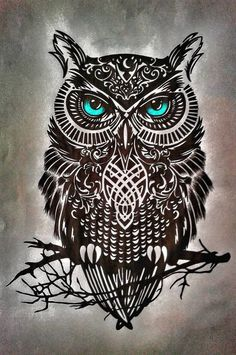 Owl Tattoo Design Ideas The Best Collection Top Rated Stylish Trendy Tattoo Designs Ideas For Girls Women Men Biggest New Tattoo Images Archive Owl Tattoo Design, Tattoo Designs, Owl Tattoo Drawings, Tattoo Sketches, Art Drawings, Skull Tattoos, Body Art Tattoos, Circle Tattoos, Fish Tattoos