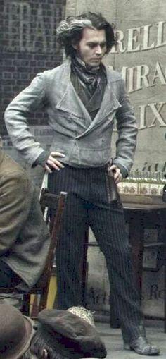 ~ † Johnny Depp †As  Benjamin Barker † Sweeney Todd †