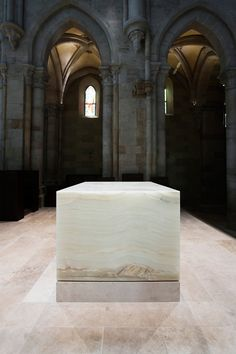 John Pawson, Altar for the Archabbey of Pannonhalma, 2006-12.